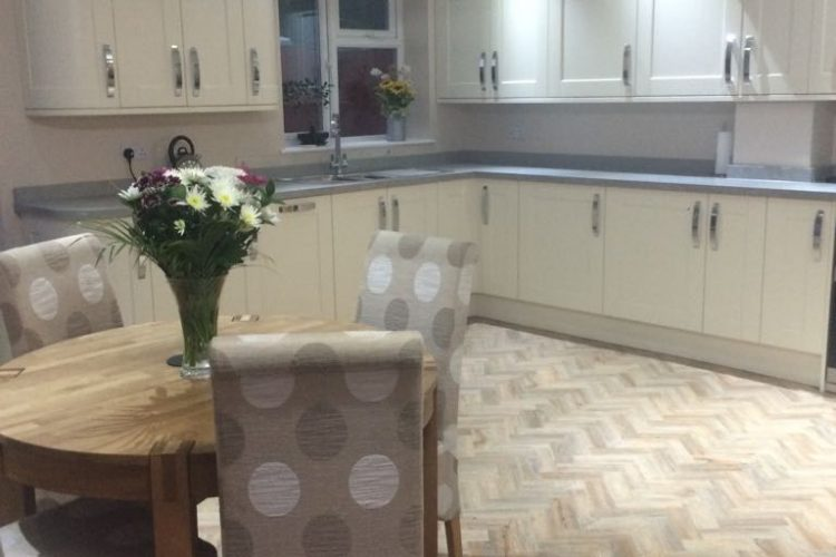 Single storey extension, new kitchen / dining room