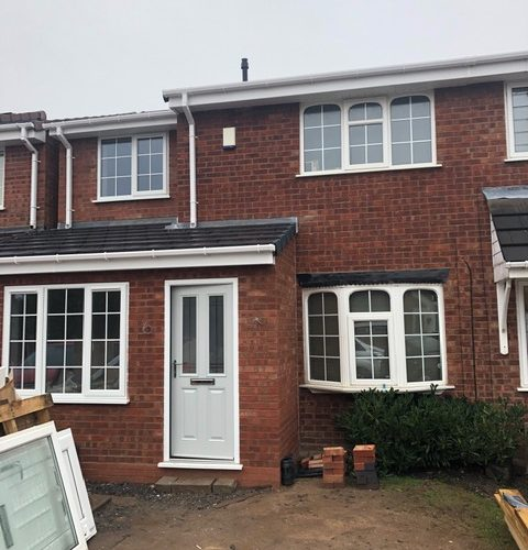 Double storey extension in Dosthill Tamworth
