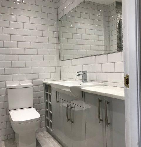 New bathroom in Nuneaton