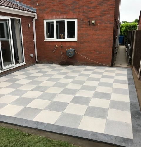 Paving Slabbed Patio