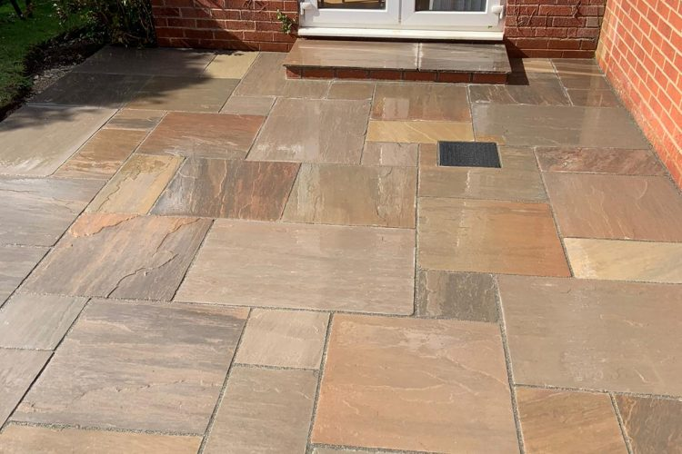 Indian Sand Stone Paving – Solihull